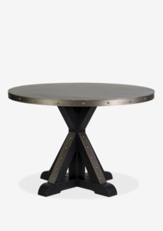 (LS) Round Table Light Grey Concrete (47X47X30)