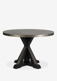 (LS) Round Table Light Grey Concrete (47X47X30)