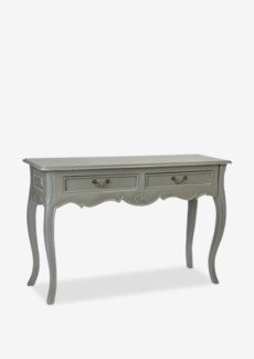 (SP) Sofie console Table W/2 Drawers-Grey Light Distressed (47x17x31)