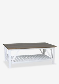 "(LS) Townson 46"" Coffee Table W/Shelf..(46X26X18).."