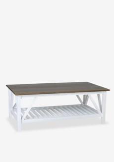 """Townson 46"""" Coffee Table W/Shelf..(46X26X18).."""