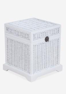 Ludwig Rattan Storage Box (19.5x19.5x21.6)