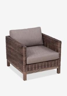 (SP) Durham Modem Club Chair-Leles Grey Color (30x35x24)..
