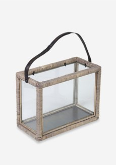 Double Lantern Slimit Grey(15.7x8x12)