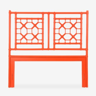 Lattice Headboard-Queen - Orange(62X2X60)
