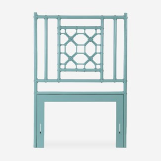 (SP) Lattice Headboard-Twin - Sky Blue(41.5X2X60)