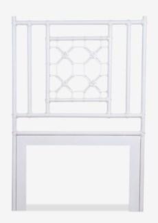 (SP) Lattice Headboard-Twin (White Solid)(41.5X2X60)