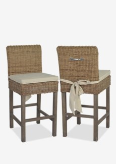 Kelly Rattan Counter Stool (18x21x40)