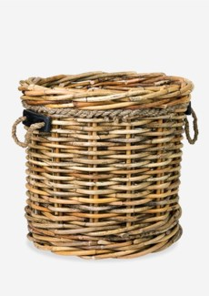 (SP) Leeton Round Basket - Large(24X24X22)