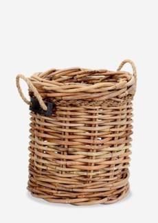 (SP) Leeton Round Basket - Medium(18X18X20)
