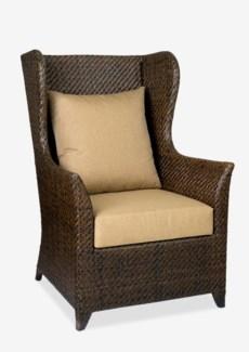 (LS) Lavinia Rattan Chair - Espresso (29.5x31x44)..