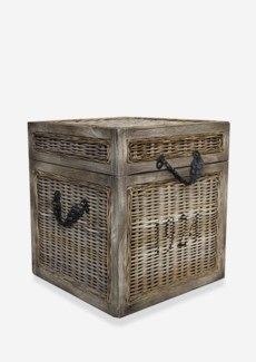 Seaton Trunk Rattan-Koboo Grey(18x18x20)