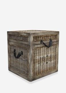 (SP) Seaton Trunk Rattan-Koboo Grey..(18x18x20)....