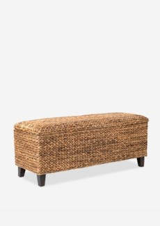 (SP) Woven Bench with Storage..