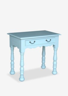 Francine Console Table - Solid Blue(32x20x30)