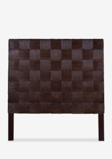 (LS) Headboard Square Dark Brown B Full (54x2x60)