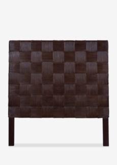 (LS) Headboard Square Dark Brown B Full (54x2x60)
