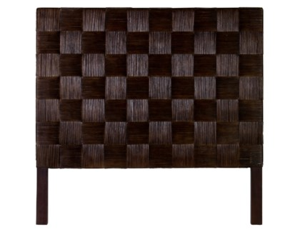 (LS) Headboard Square Dark Brown B Queen (62x2x60)