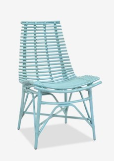 Franklin Side Chair - Sky Blue (19x22x42)