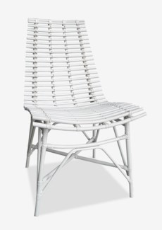 Franklin Side Chair- White Solid (20x25x33)