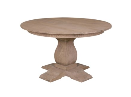 "(LS) Cambridge 47"" round pedestal dining table.."