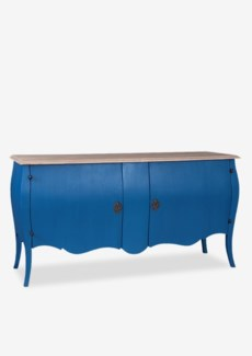 Fiji with 2 Door Cabinet (64x20x34)Blue