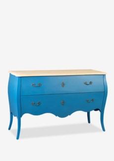 (LS) Fiji Solid Wood Dresser w/ 2 Drawers (52x20x34)