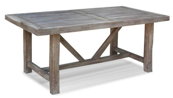 (LS) Madison Dining Table (K/D) (71x35x30)