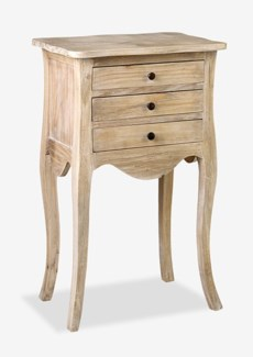Promenade 3 Drawer Accent Table (20x14x34)
