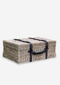 (SP) Vintage Rattan Suitcase (25.5x18x9.5)