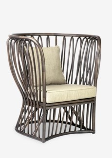 (LS) Trellis Club Chair-Grey 002 (38x31x40.5)