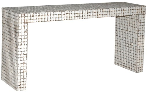 Cassy Console Table - White Patina