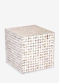(SP) Cassy Stool-WH (16.5x16.5x16.5)