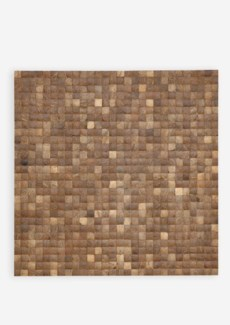 (LS) Coconut Wall Display-Natural (78X2X78)