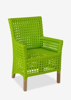 Derby Arm Chair - Indoor/ Outdoor Lime Green (25X25X35)