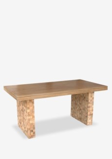 (LS) Danielle Dining Table (67X35X30)