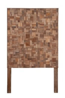 (LS) Sequoia Headboard-Twin (Recycled Wood) (41x2x68)