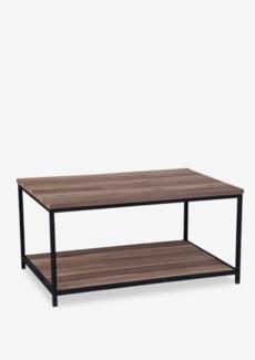 (LS) Sedona cocktail table w/ wrought iron frame (36.5X23.5X18)