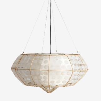 (LS) Grand CAPIS Hanging Lamp (M)(35X35X18.5)
