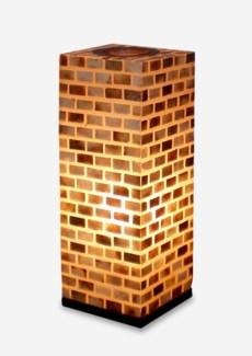 (LS) Valentti Square Table Lamp (M) (8x8x21)