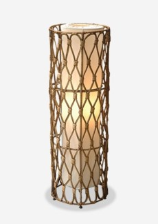 (LS) Bethany Round Table Lamp (L) (8.5x8.5x24)