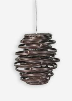 (LS) Oceola Hanging Lamp (18x18x19)