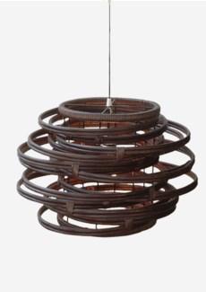 (SP) Oceola Drum Hanging Lamp-L (24x24x19)