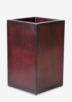 (LS) Labota Square Planter Lamp (M) (18x18x23.5) PURPLE