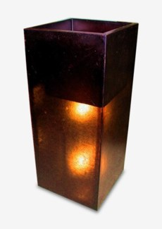 (LS) Mara Square Planter/Lamp (22x22x45.5)
