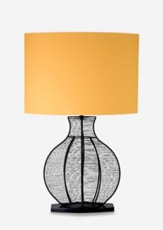 (LS) Ficaro Table Lamp - Black Metal - M (19.5x10x31)