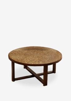 (LS) Habitat Round Cocktail Table w/ circle design