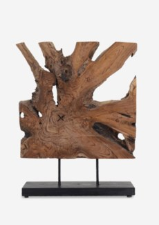 (LS) Canyon Art Wood Decor (16x7x22)