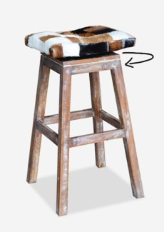 (LS) Patch Work Bar Stool