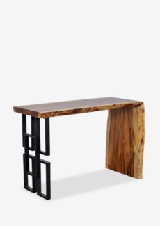 (LS) Patagonia Console/Desk With Metal Accents (47X21X31)